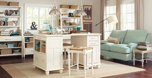 Cottage/Country Home Office photo by Birch Lane