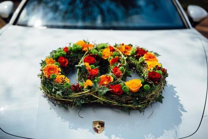Autoschmuck Ringe Wedding Cars Wedding Car Decorations And Wedding