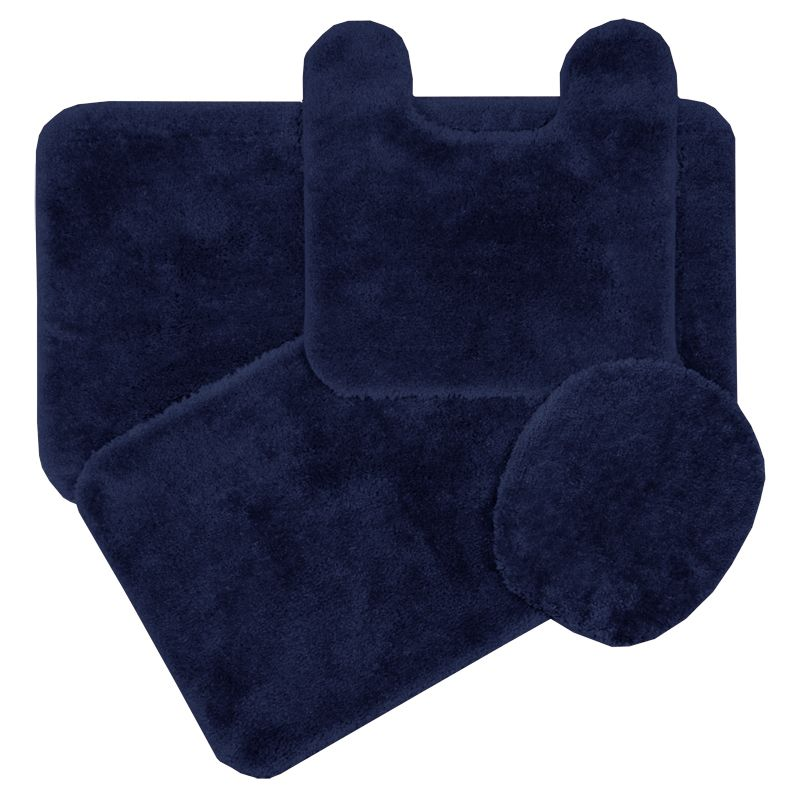 Simple Soft Navy Blue Bath Rugs Navy Blue Bath Rugs