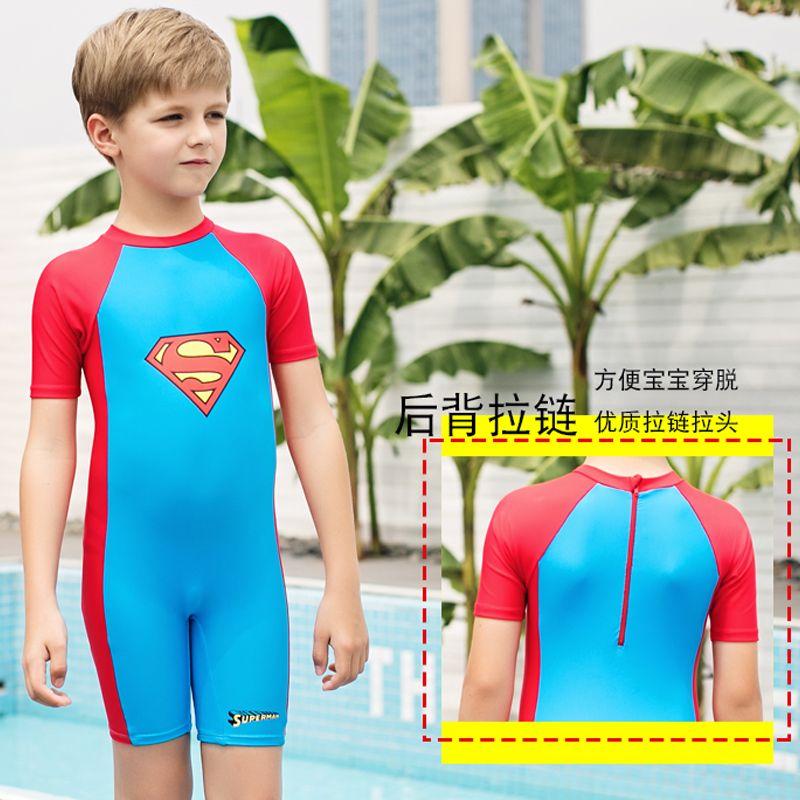 Vatican children's one-piece swimsuit boy superman swimsuit baby swim  trunks boy big boy hot spring swim…   Teenage boy fashion, Cute blonde boys,  Baby boy swimwear