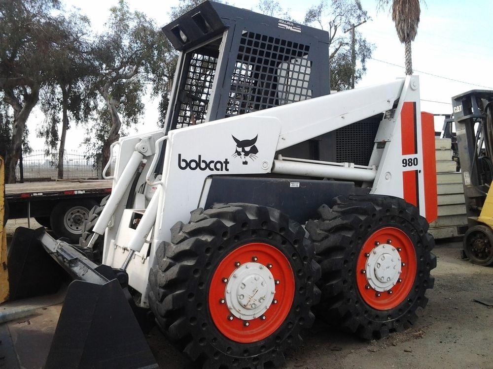 Bobcat 980 Skid Steer Loader Skid Steer Loaders Skid
