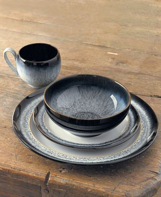 Denby Dinnerware Halo Collection Reviews Dinnerware Dining Macy S In 2020 Denby Pottery Tableware Set Dinnerware Sets