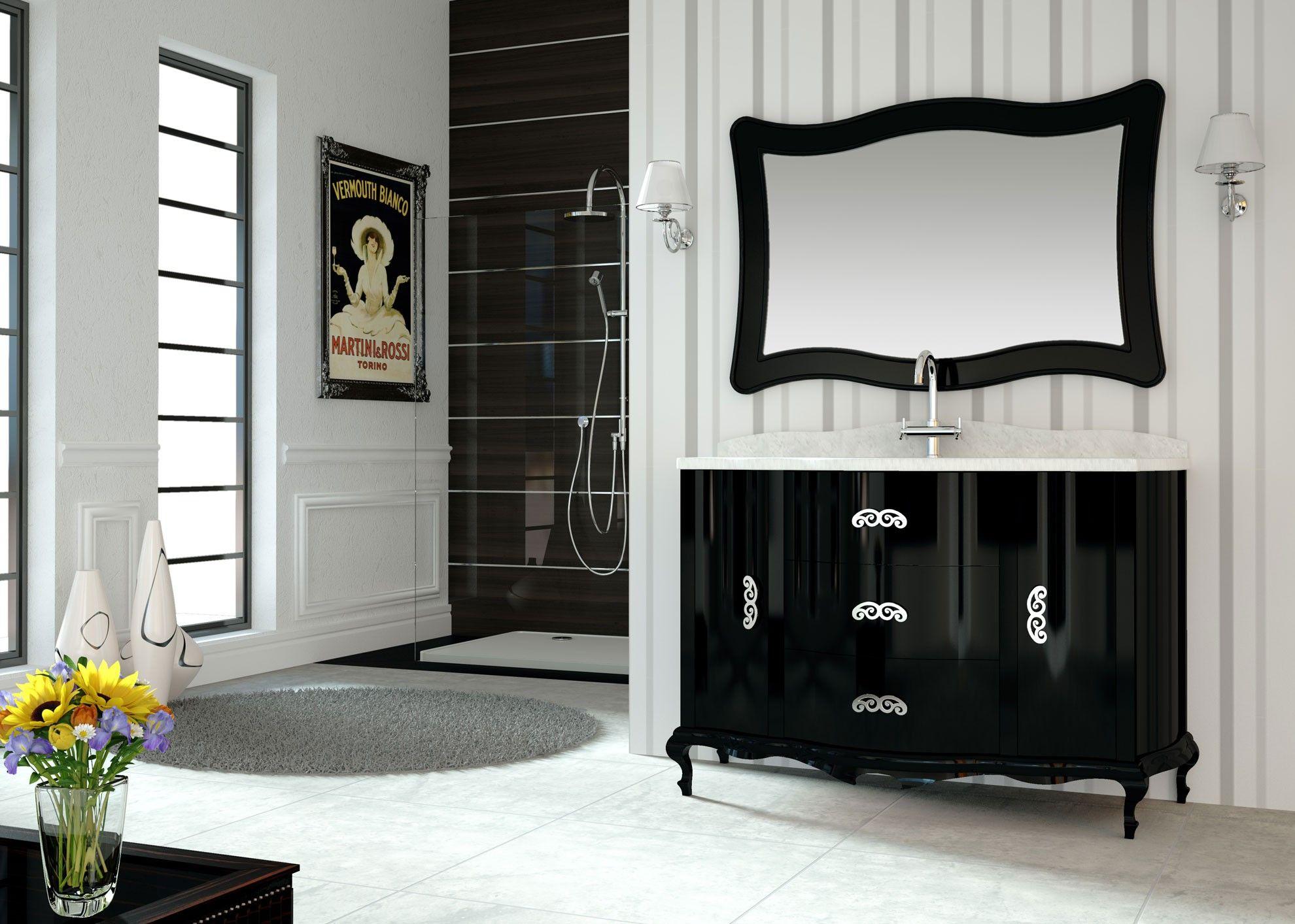 Mueble De Ba O Cl Sico Roma 130 Cm Muebles De Lujo Muebles De  # Muebles Caon Canada De Gomez