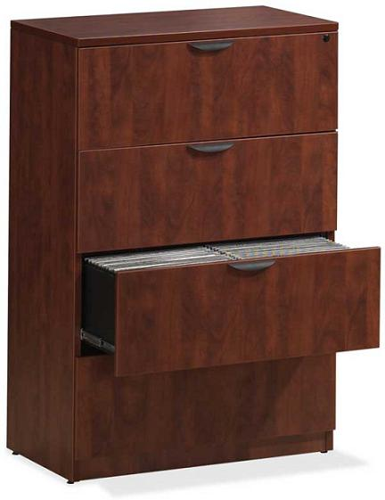 Locking Lateral File Cabinet 4 Drawer Filing Cabinet Home