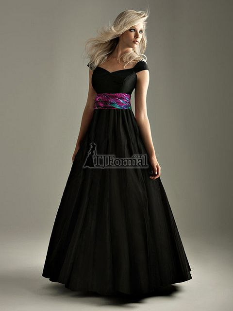 Night Moves Modest Prom Dress 6332M by TJ
