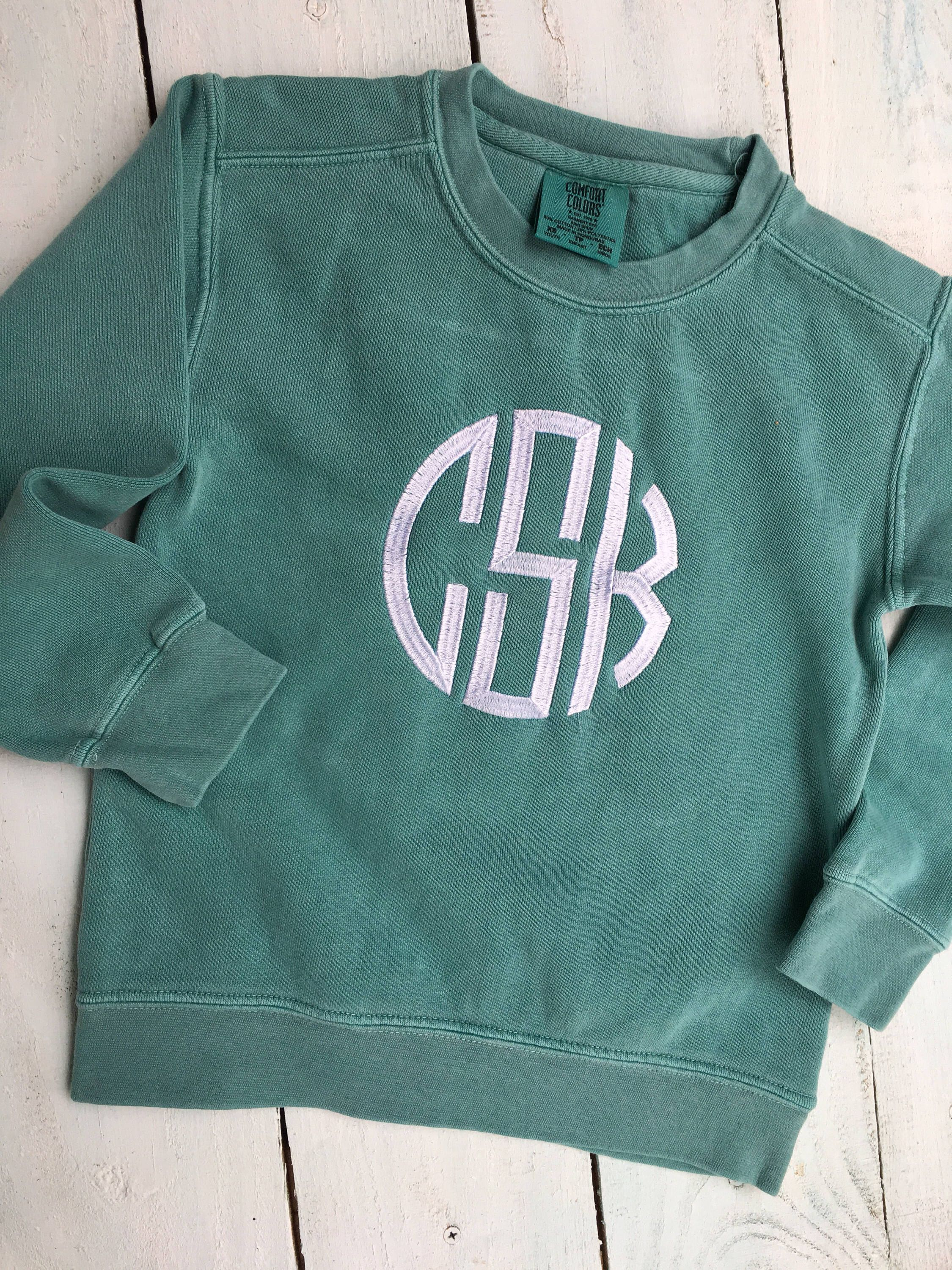 12f4d2c21c7fc Excited to share the latest addition to my #etsy shop: Mommy Daughter  Sweatshirts, Toddler Monogram Sweatshirt, Girls Monogram Sweatshirt, Kids  Monogram ...