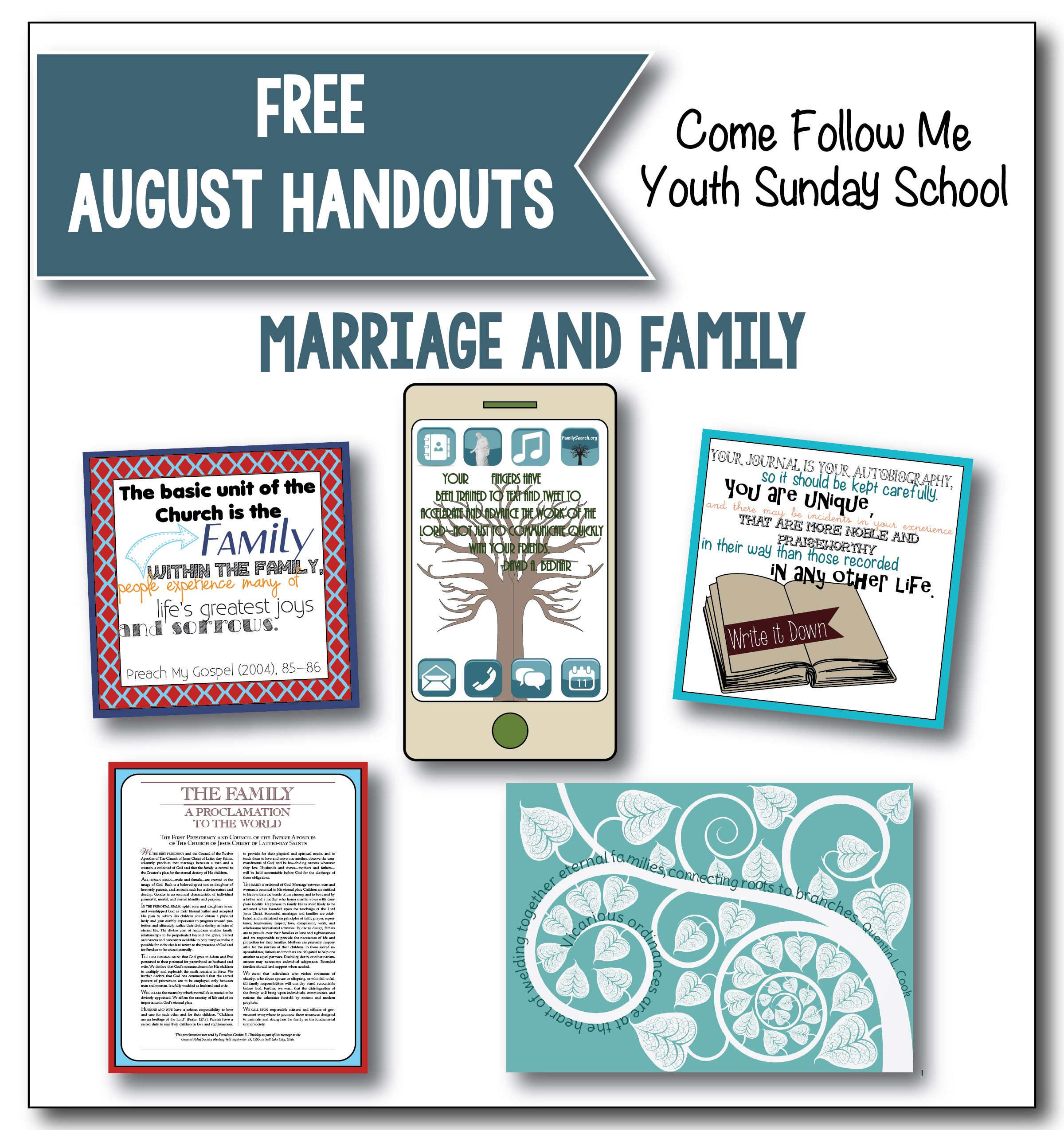 Latter Day Village is now offering our Sunday School handouts for ...