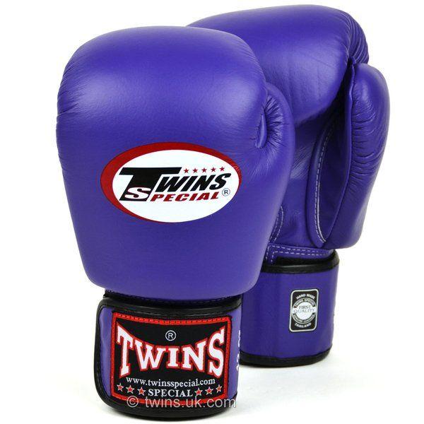 Twins BGVL3 Velcro Boxing Gloves White