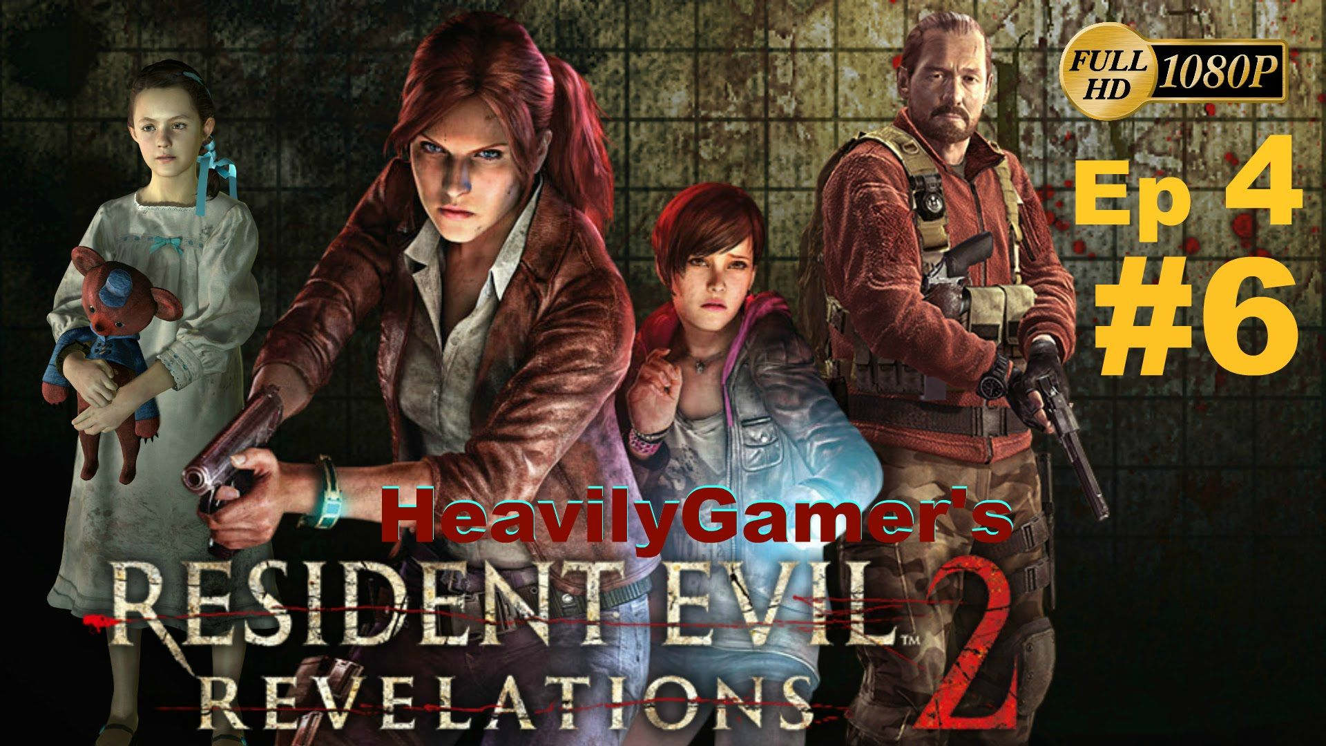 Resident Evil Revelations 2 Pc Episode 4 Part 6 Alex Wesker Boss