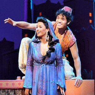 Aladdin Broadway Musicals Musical Dschinni