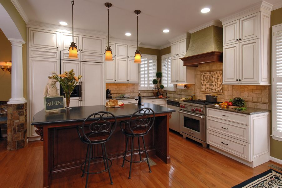 Brilliant Criner Remodeling Uses Greenfield Cabinetry For Kitchen Home Interior And Landscaping Palasignezvosmurscom