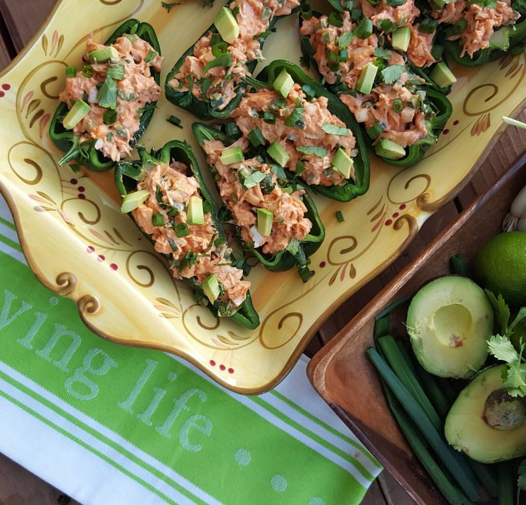 Chicken Stuffed Anaheim Peppers Buffalo-Lime Chicken Stuffed Anaheim Peppers Recipe Clean Eating…Buffalo-Lime Chicken Stuffed Anaheim Peppers Recipe Clean Eating…