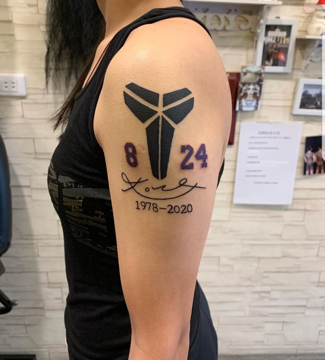 Pin by Pulido on Tattoos in 2020 Kobe bryant