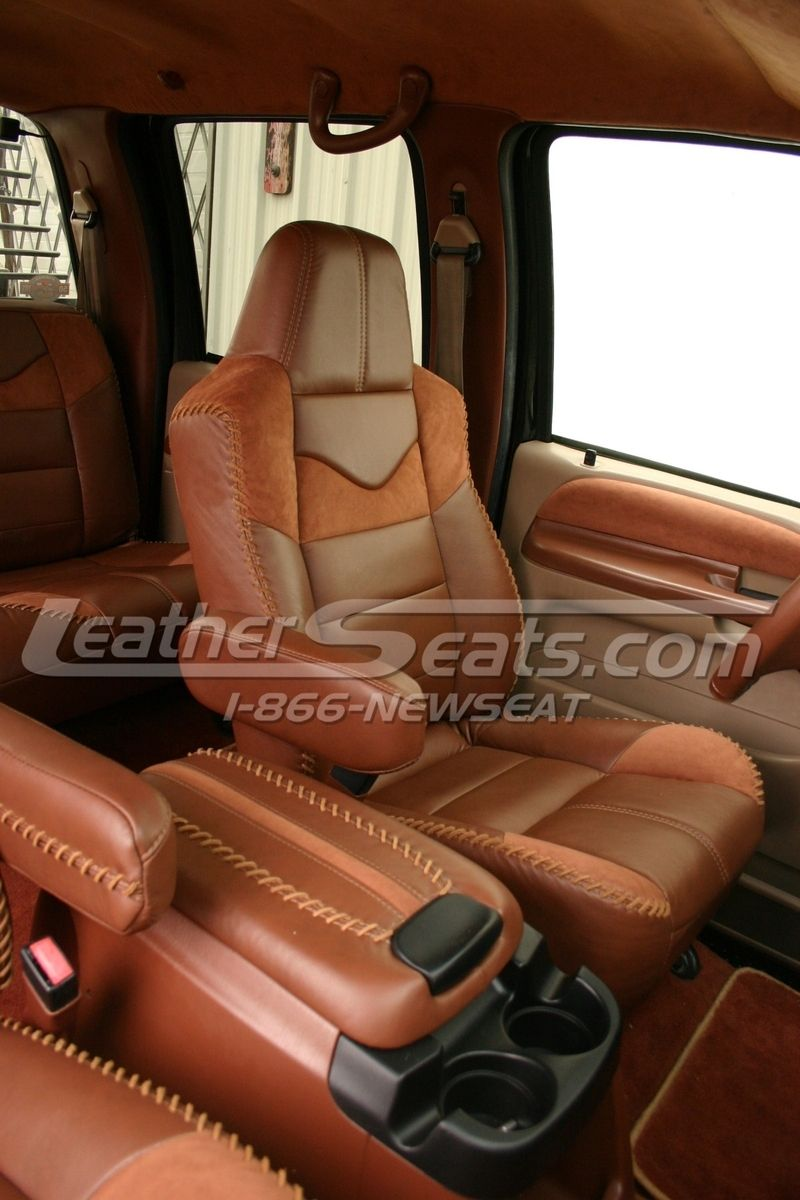 King Ranch Style Truck Interior Conversion Truck Interior Custom Trucks Ford Excursion