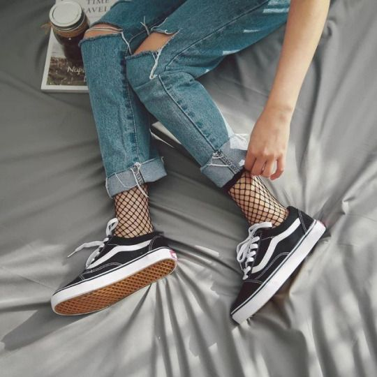 Pin by Anastasia Bauereis on Mesh socks | Streetwear fashion