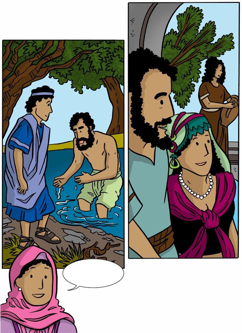 Faith-Filled Models From the Old Testamen: Israelite Servant Girl ...