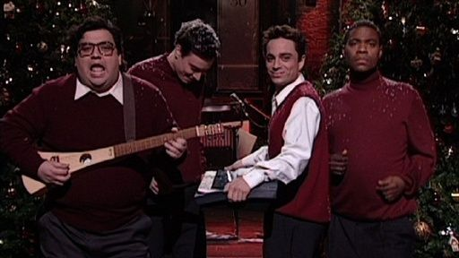 to get everyone in the christmas mood horatio sanz jimmy fallon chris kattan and tracy morgan perform an original holiday tune i wish it was christmas - I Wish It Was Christmas Today Original