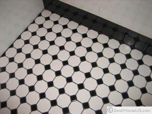 Black And White Bathroom Floor Tiles Decor Ideasdecor Ideas