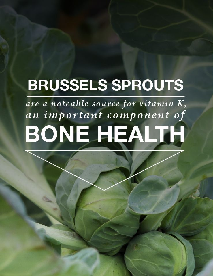 Brussels sprouts are more than just delicious they also