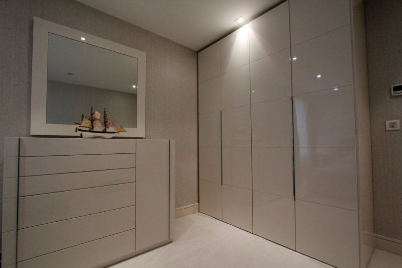 High Gloss Bedroom Wardrobe Amazing Laminate Furniture Pinterest Modern Fitted Wardrobes