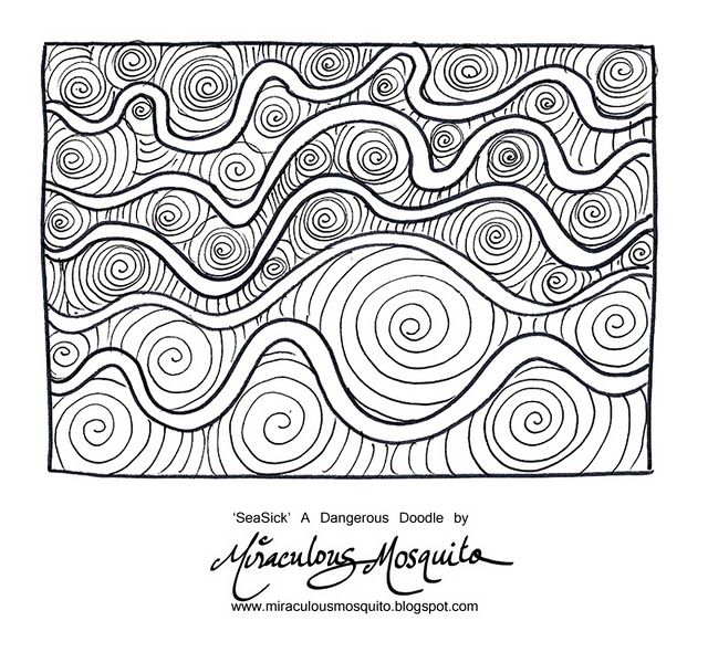 Get Ready For Dangerous Doodles Zentangle Patterns Doodles