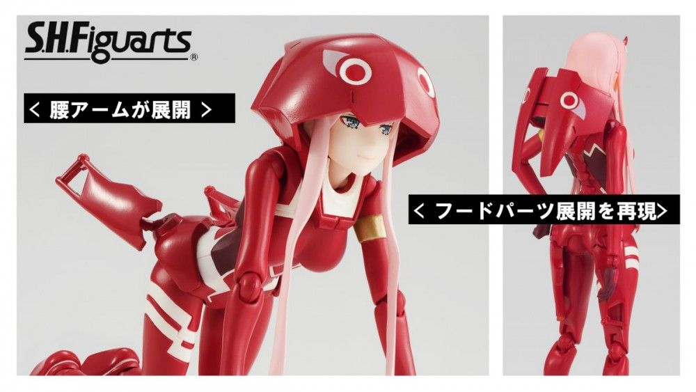 DARLING in the FRANXX Code 002 02 Zero Two Action Figure PVC Collection Model