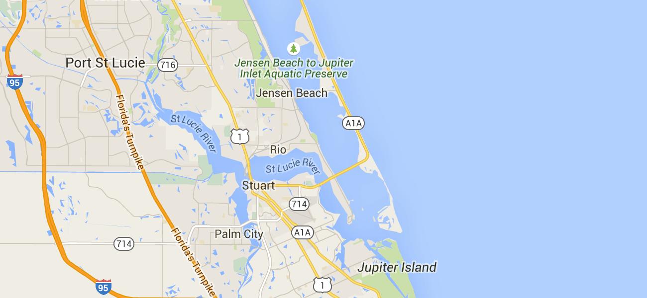 Hutchinson Island Florida Map.Hutchinson Island Snorkeling Pinterest Treasure Coast Weekend