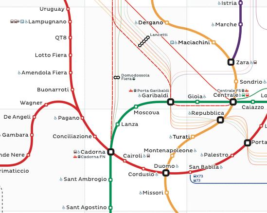 Milan Metro Map Map Map Map Games Game Environment