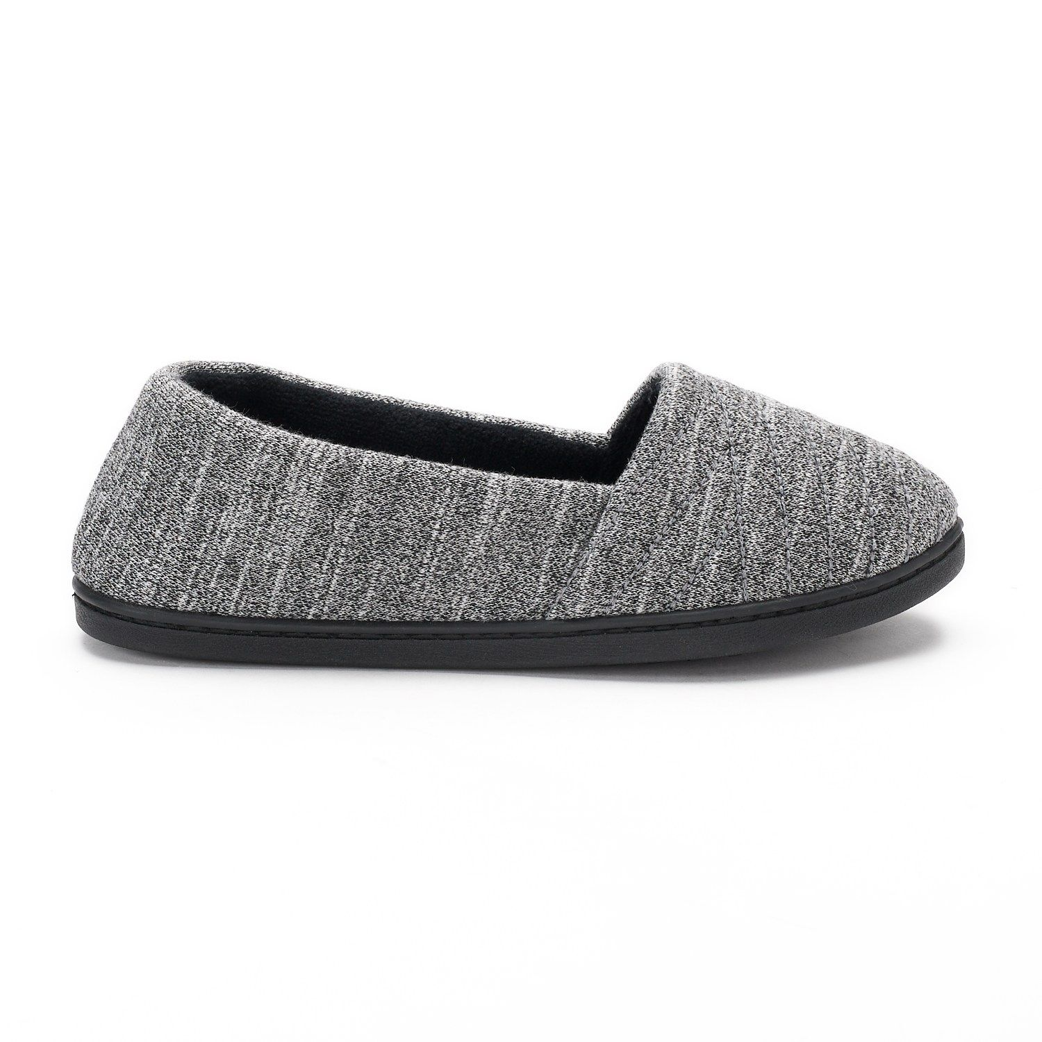 09bf8a38403fe8 Women s isotoner Andrea Space-Knit A-Line Slippers in 2019