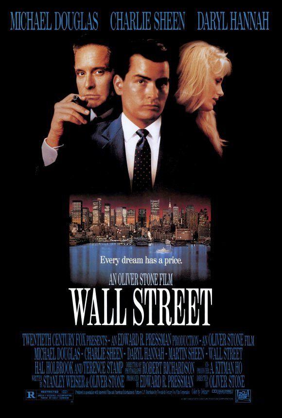 wall street 27x40 movie poster 1987 street film on wall street movie id=84742