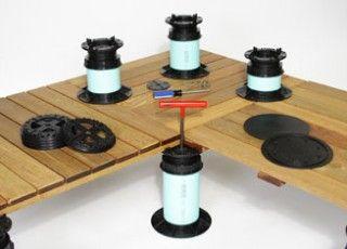 Tile Tech Pedestal Pavers System Are Designed For Concrete