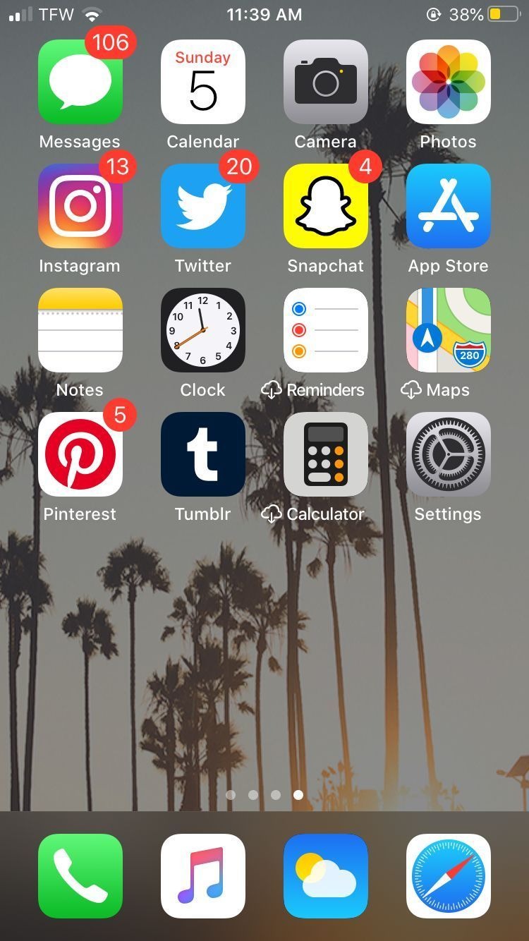 Pin on home screen layout iphone