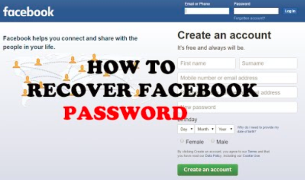 Facebook Password Recovery Is A Big Issue Of Facebook Without A
