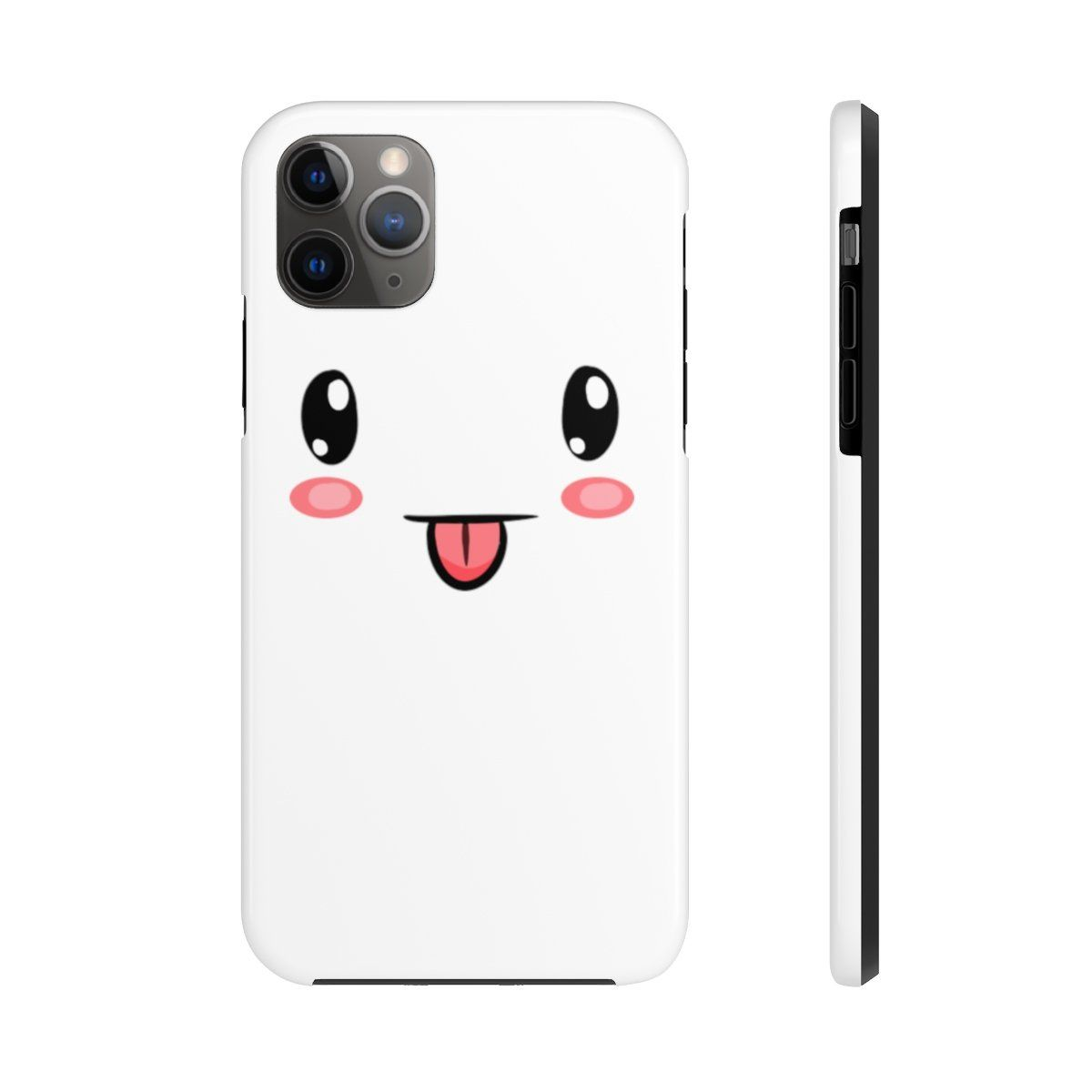 Iphone 11 Pro Max Cases Cute Face White Background Color