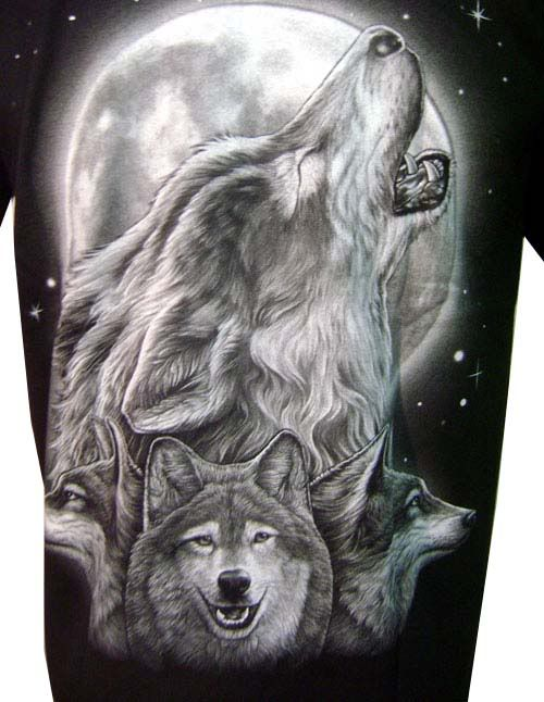 Wolf At Full Moon Tattoo On The Ankle | Fresh 2017 Tattoos ...