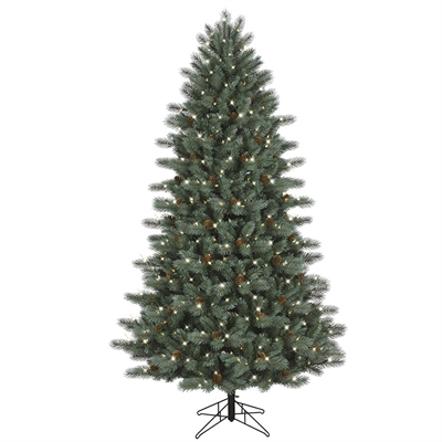 GE 7.5-ft 1154-Count Pre-Lit Scotch Pine Full Rightside-Up - GE 7.5-ft 1154-Count Pre-Lit Scotch Pine Full Rightside-Up