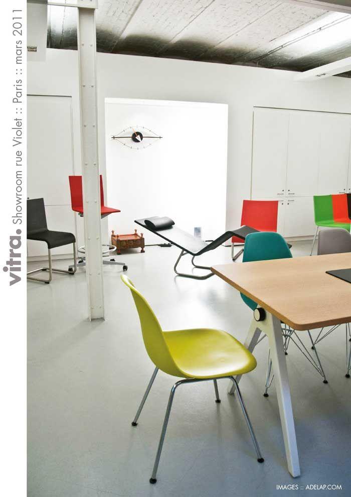 Design Showroom Vitra In Paris Showroom