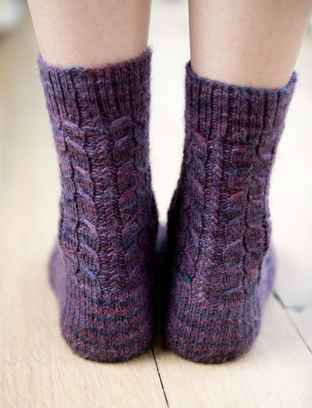My new sock design in Simply Knitting 115 :) | Knit and crochet ...