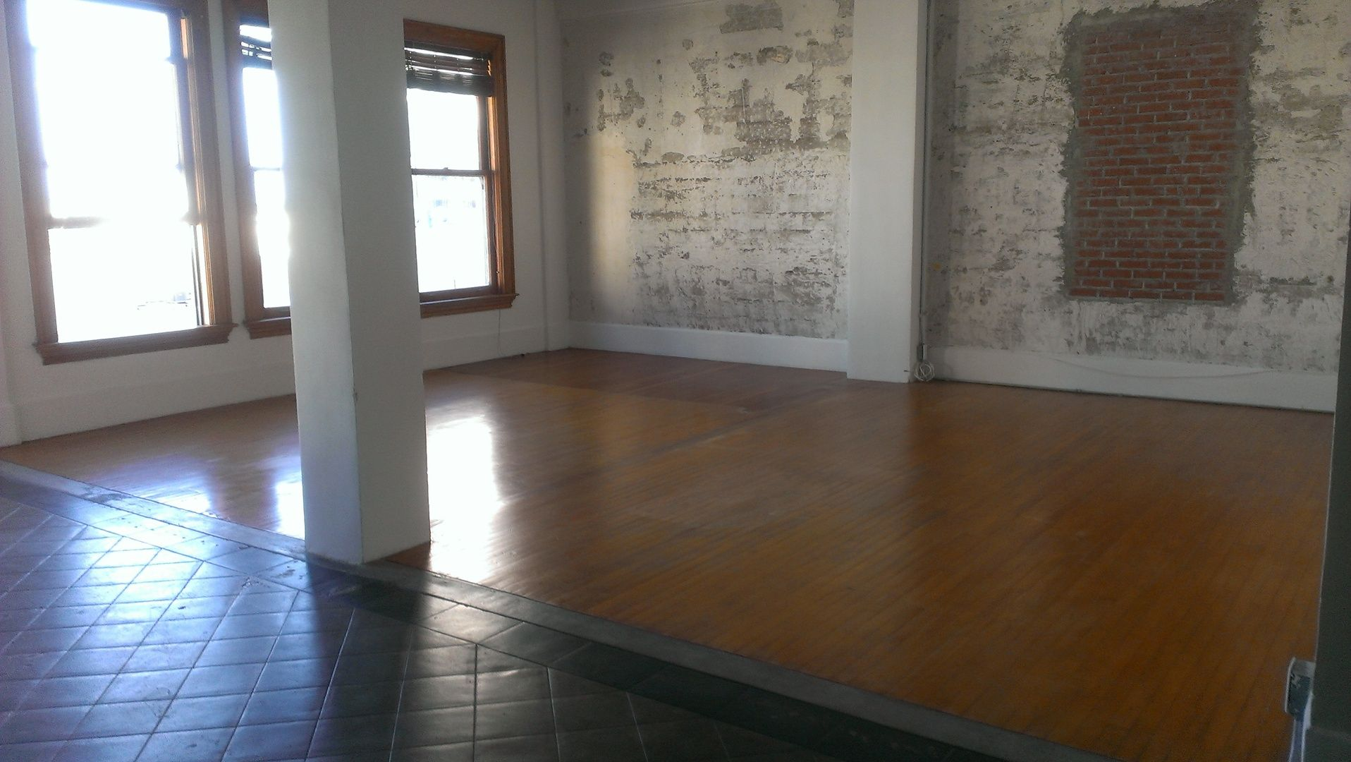 This amazing industrial loft is located in the historic scripps