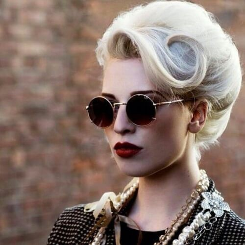 50 Pin Up Hairstyles for Retro Glam - Women Hairstyles
