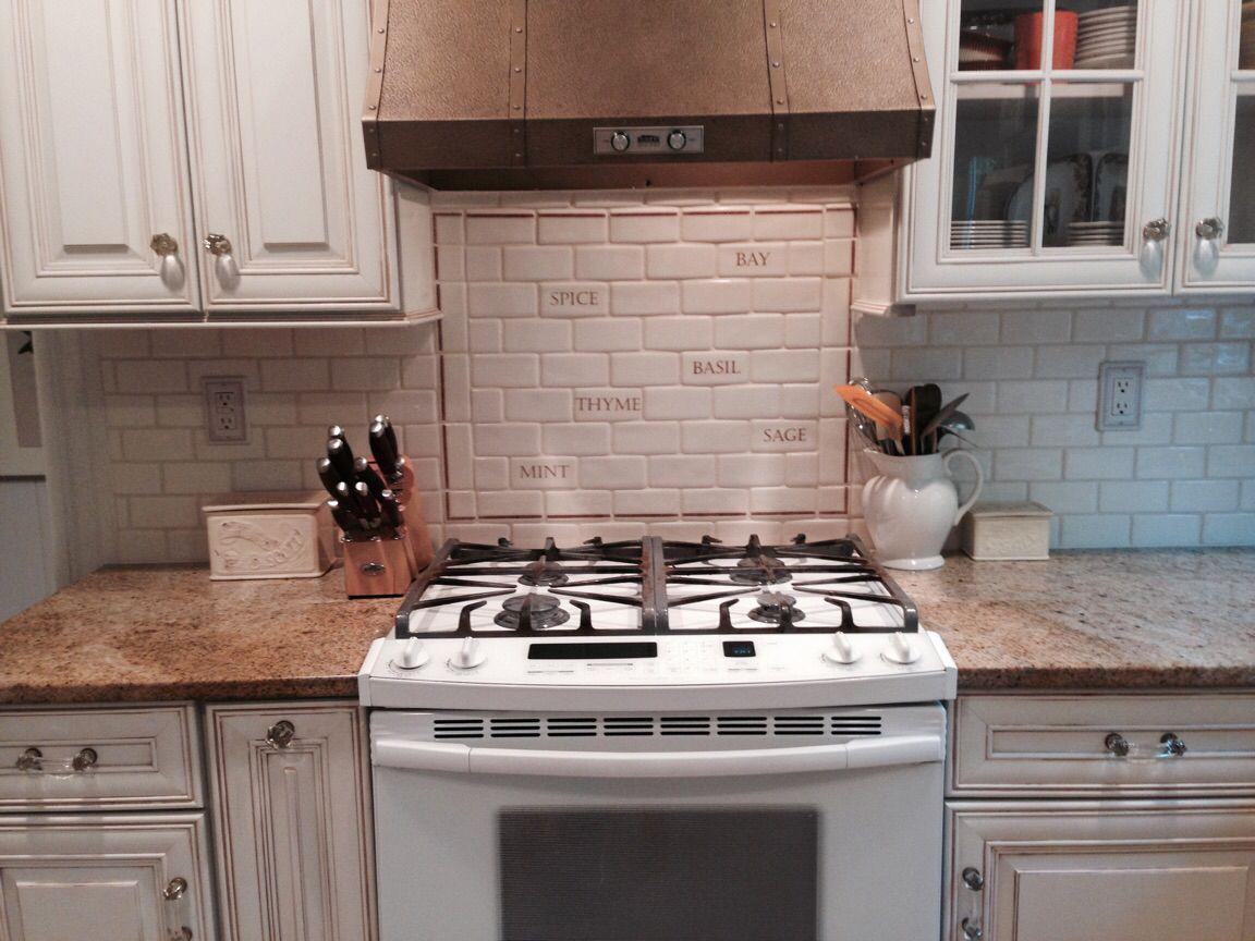 Backsplash With Handmade English Tiles French Country Kitchen Shabby Kitchen Decor Copper Stove Hood N Country Kitchen French Country Kitchen Kitchen Decor