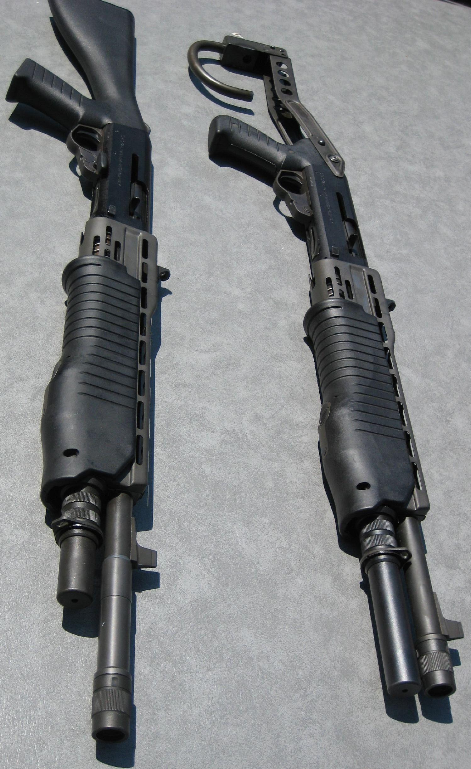 SPAS 12 dual mode (pump/semi auto) shotgun. Used a ton in movies, tv ...