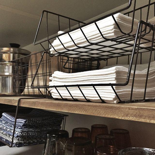 100均アイテムでキッチンの狭い空間をオシャレに収納 インテリア