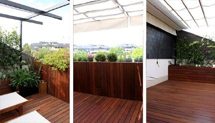 Dise o de jard n para una terraza peque a con mucho - Terrazas pequenas con encanto ...