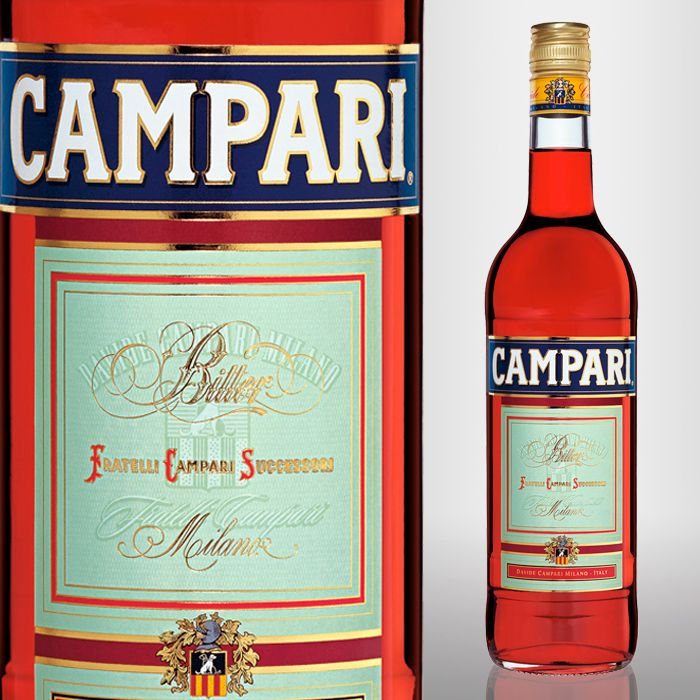 great mixer for many cocktails - Campari