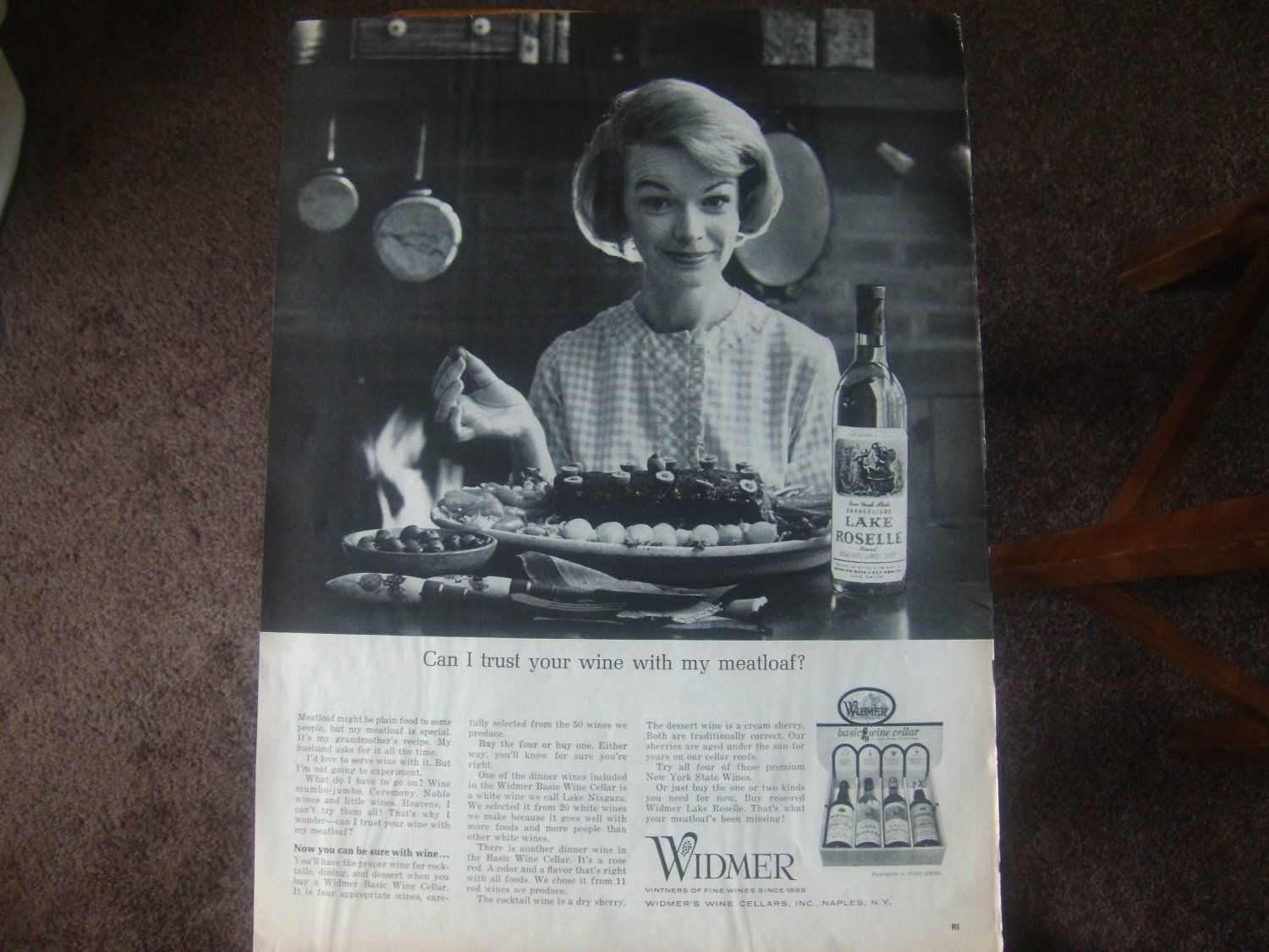 Widmer Wine Cellars Naples NY Pretty Housewife Photo Print Ad  sc 1 st  Pinterest & Widmer Wine Cellars Naples NY Pretty Housewife Photo Print Ad ...