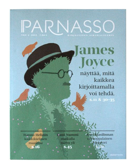 Karppi Design ::: James Joyce ::: illustration