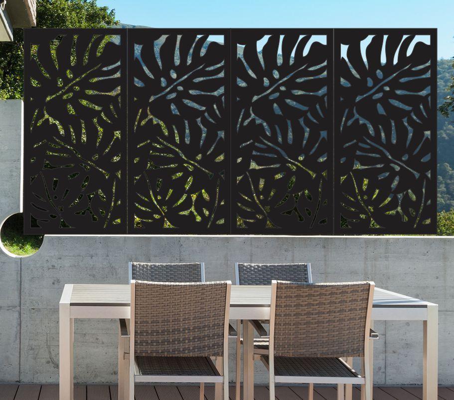 Garden Decor Screen: Metal Wall Art 1800 X