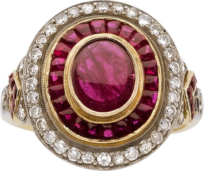 Rp Ruby Diamond Gold Ring Jewelry Fine Jewelry Ring Estate Jewelry Rings