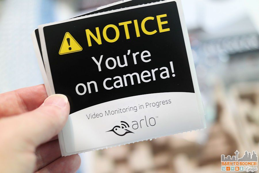 Arlo Security Cameras Wire-free Indoor Outdoor System - video